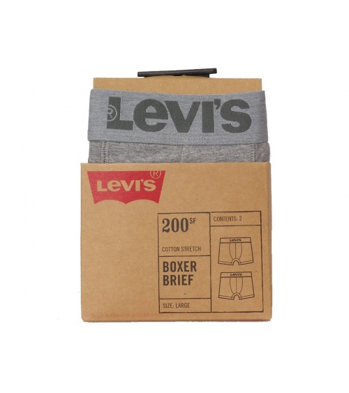 PACK 2 BOXERS LEVI'S LISOS 200 SF