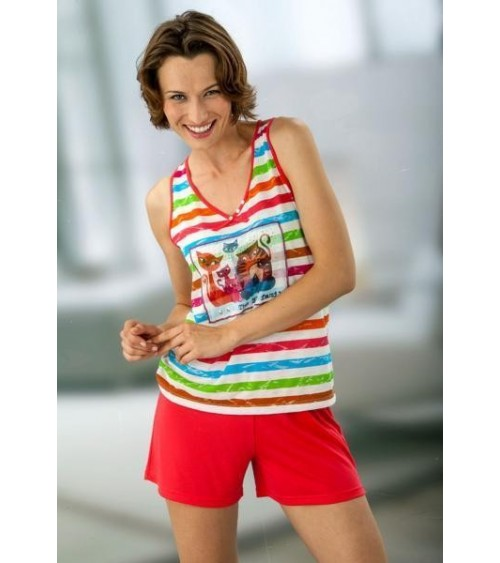 Pijama de Mujer Massana de Tirantes Verano con Viscosa