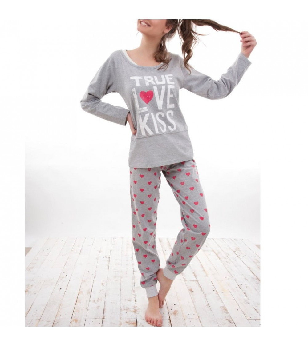 PIJAMA ADMAS LOVE PEACE