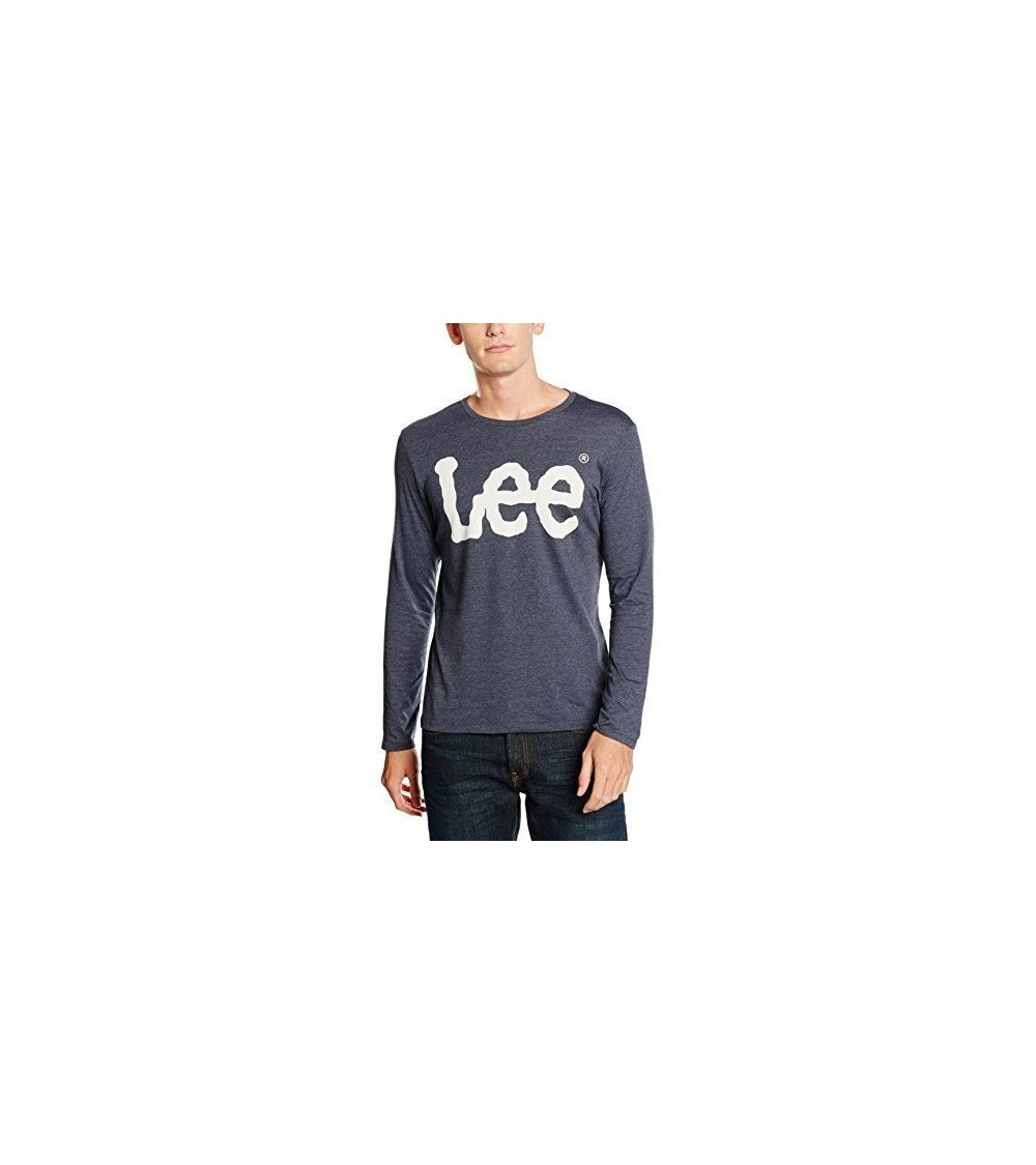 CAMISETA LEE MANGA LARGA LOGO