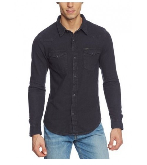 CAMISA TEJANA LEE WESTERN CLEAN GREY