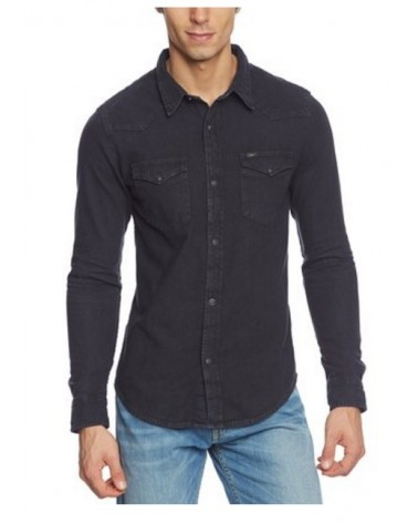CAMISA MANGA LARGA LEE WESTERN CLEAN GREY