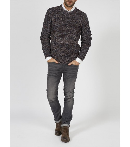 knitted pullover PETROL