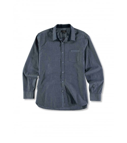 Long sleeve men's shirt with print LOSAN