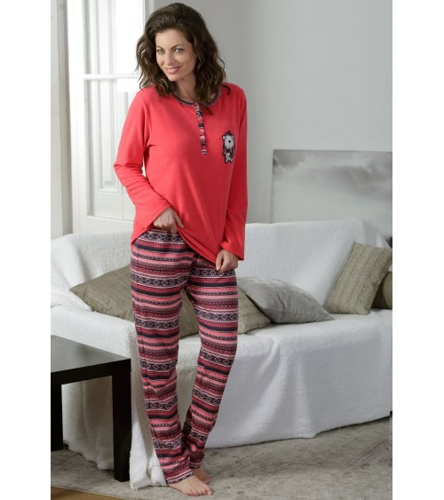 "Womens Pyjamas MASSANA soft and warm ""Teddy bear"""