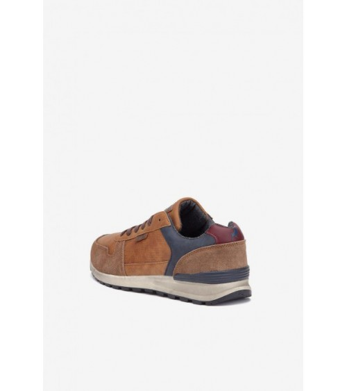 LOIS Mens Shoes Trainers CASUAL SOFT BROWN
