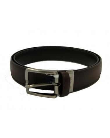 Cinturon Piel Hombre GILMART Negro o Marrón