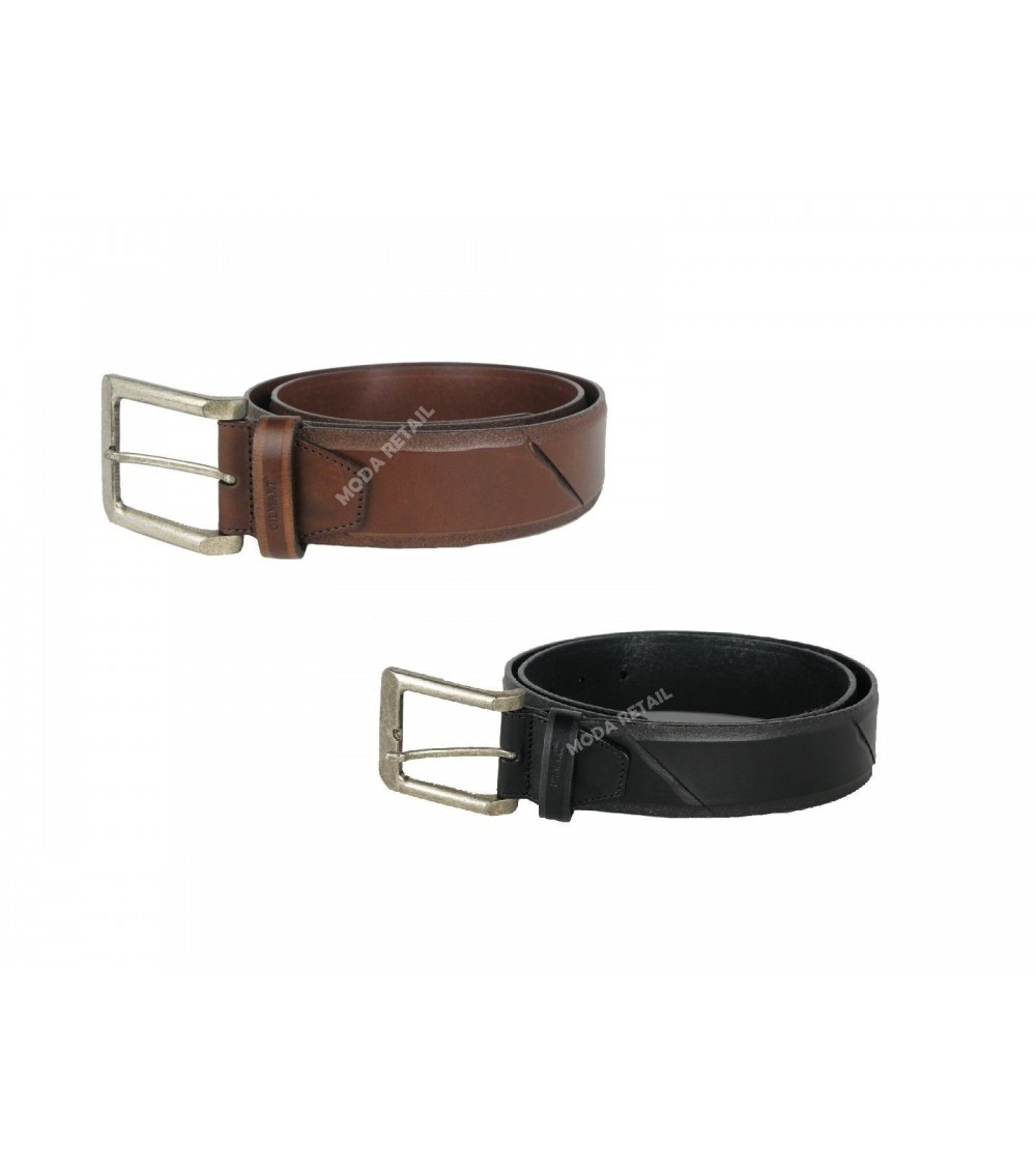Mens Top Quality Leather Belt GILMART Brown or Black
