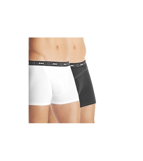 PACK 2 BOXERS DIM COTON STRETCH DRY & COOL