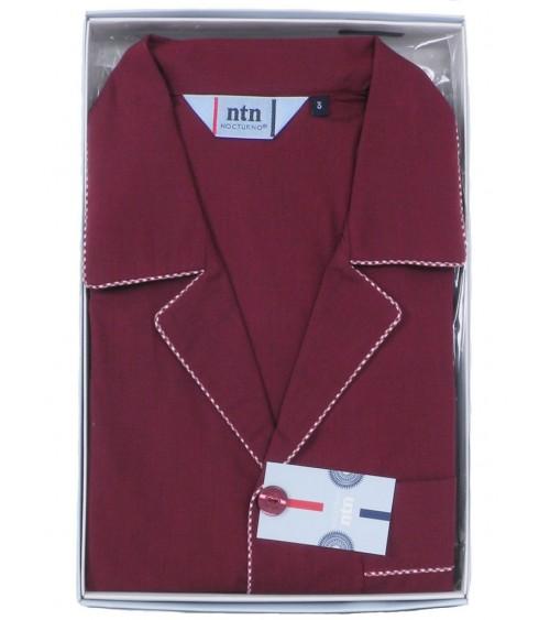 Pijama Ropa Clásico Algodón Nocturno 1903 M a 4XL algodón