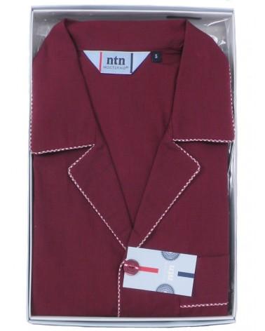 Mens Classic Pyjama Set cotton nightwear Nocturno 2 colors