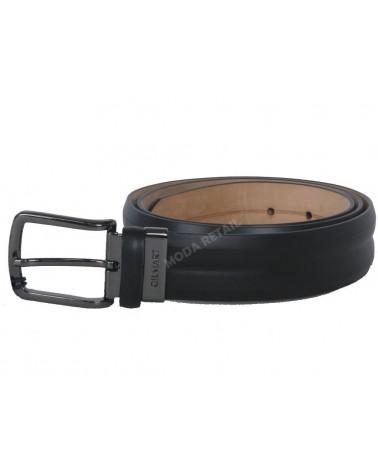 Mens Leather Belt modern GILMART Black Top Quality