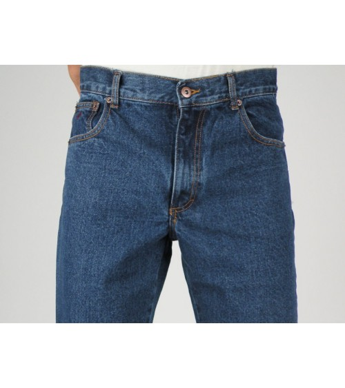 Mens Denim Jeans 100% Cotton LCN SPAIN All Sizes High-Waist Comfy Jeans