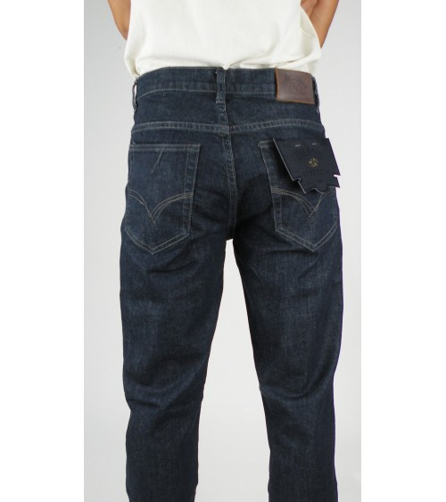 Pantalón Vaquero Hombre con Elastano T&K Regular Fit