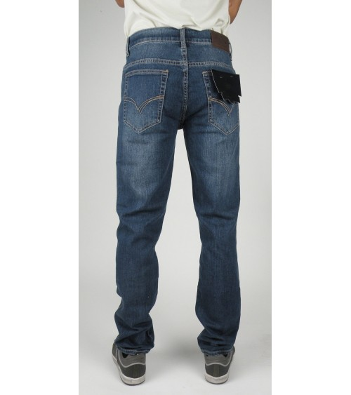 Pantalón vaquero con elastano hombre T&K REGULAR FIT