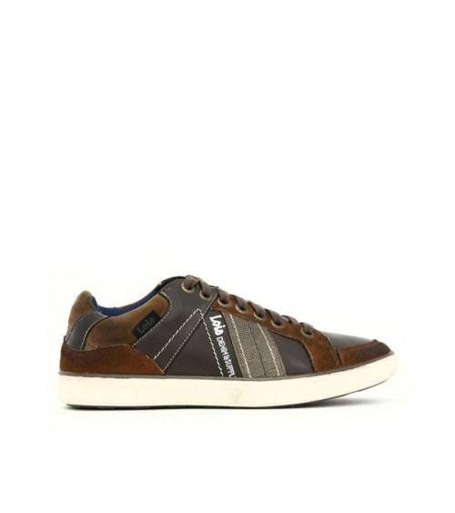 LOIS Mens Shoes Trainers URBAN BROWN