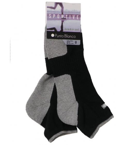 Lot de 2 Chaussettes PUNTO BLANCO Technologie déodorant Socquettes
