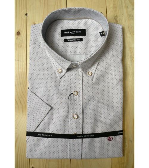 Camisa Lord Anthony Manga Corta Estampada