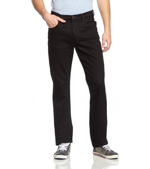 Mens Lee Jeans Original BROOKLYN CLEAN BLACK