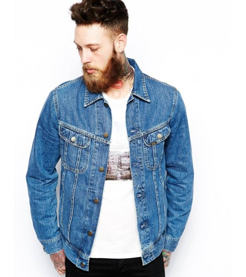VESTE EN DENIM LEE STONEWASH