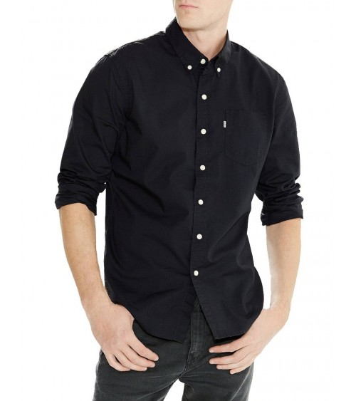LEVIS ONE POCKET SHIRT - BLACK or WHITE (19586)