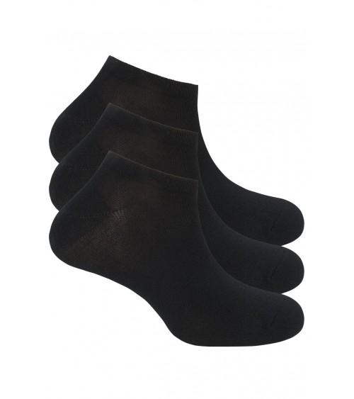 Pack x3 Calcetines Tobilleros Hombre BASIX PUNTO BLANCO