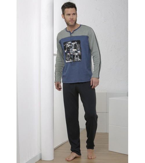 "Winter Pajamas Sets Men MASSANA ""MOTORCYCLES"""
