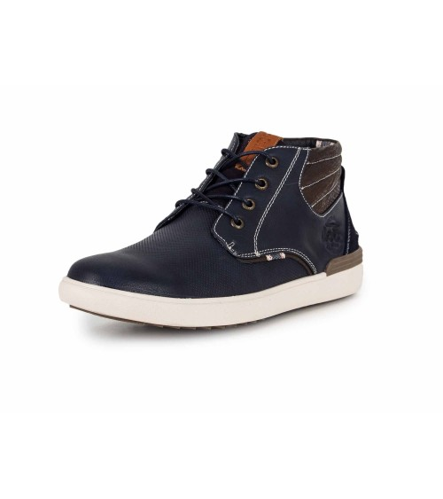 Lois Mens Blue Fashion Boots Footwear