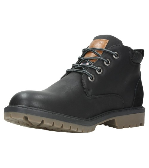 Lois Mens Black Fashion Boots Footwear