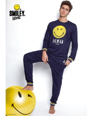 PIJAMA SMILE MANGA LARGA