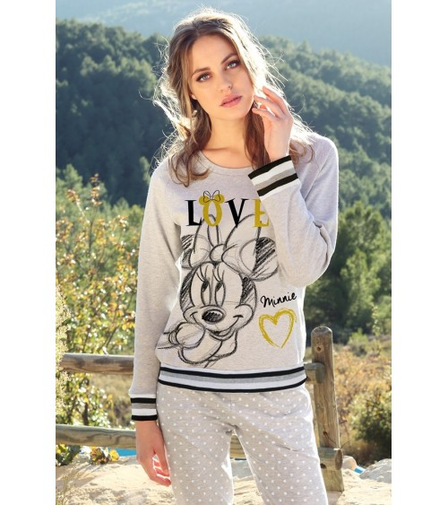 "WOMENS DISNEY PAJAMA ""MINNIE LOVE"""
