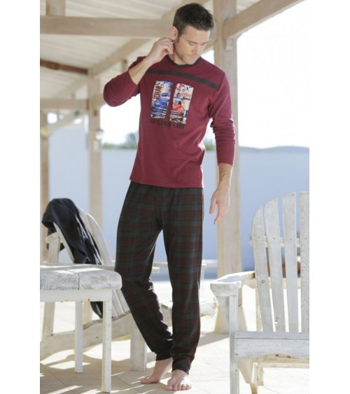 "Winter Pajamas Sets Men MASSANA ""CLASSIC CARS"""