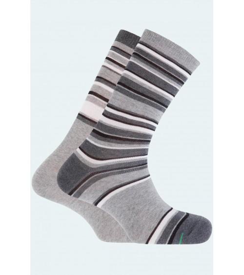 Pack de 2 chaussettes en coton sportives