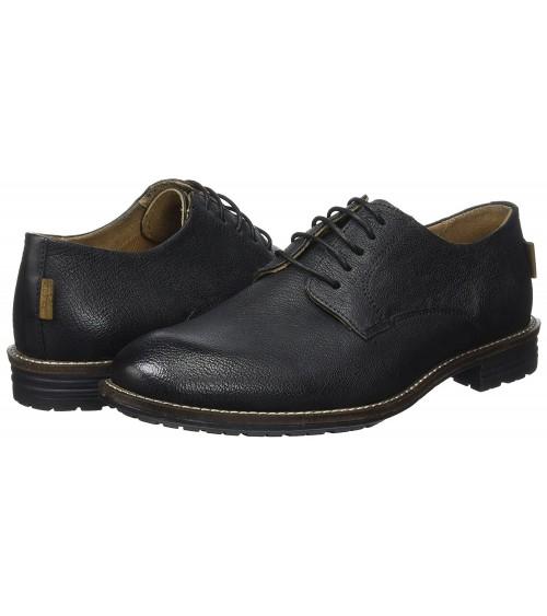 Chaussures LEVIS Homme Cuir Noir HUNTINGTON