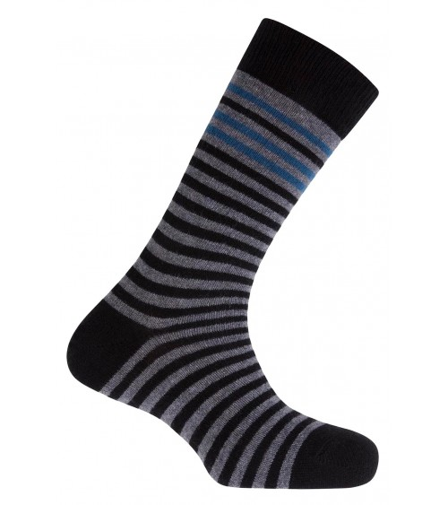 Men Plain lambs wool socks PUNTO BLANCO Stripes