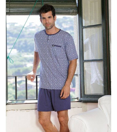 "Mens summer Pyjama Set MASSANA ""Retro"""