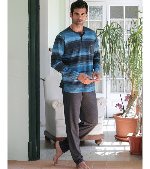 Mens Pyjama Sets Massana Long Sleeve Spring Summer