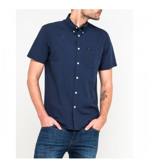 CHEMISE LEE BUTTON DOWN SHORTSLEEVE
