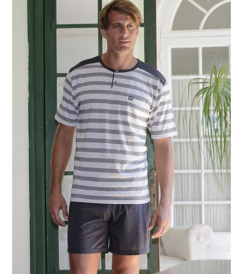 "Mens summer Pyjama Set MASSANA ""Stripes"""