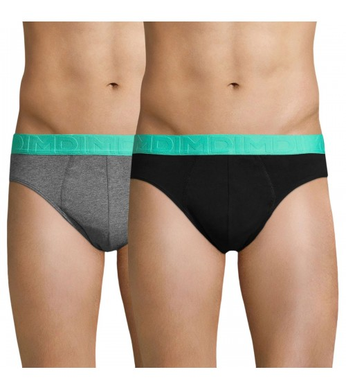 Men's 2 Pack Boxers Briefs Cotton Trunks DIM MIX & FUN