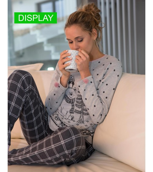 "Women Pyjamas Winter ""Winter Teddy bear"""