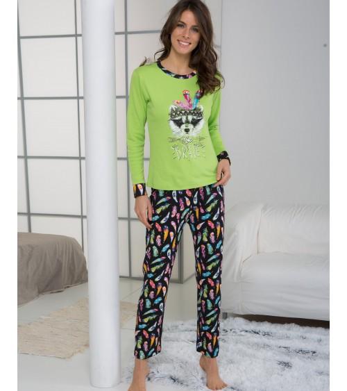 "Femmes Pyjamas Hiver Massana ""BE BRAVE"""