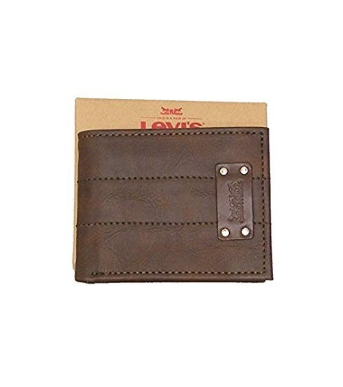 Levi's Brown Leather Wallet 224665-10