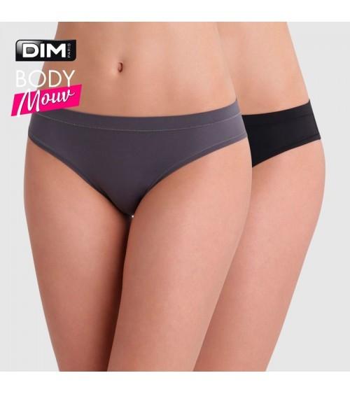 Pack 2 Braguitas Mujer Slip Dim Body Mouv Ultra Elásticas