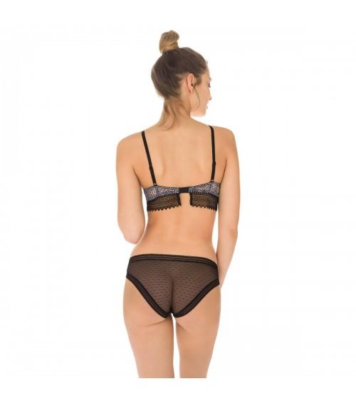 Pack de 2 Braguitas Mujer Slip Dim Sexy Transparency