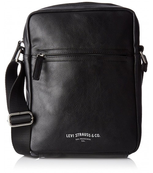 Levi's Men's Messenger leather bag PU CROSSBODY