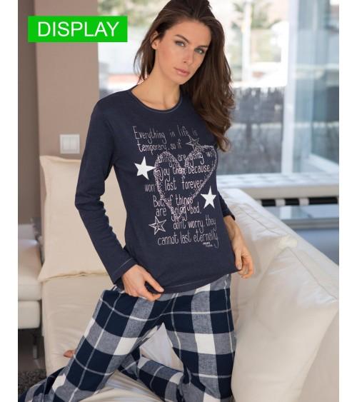"Femmes Pyjamas Hiver Massana ""LIFE"""