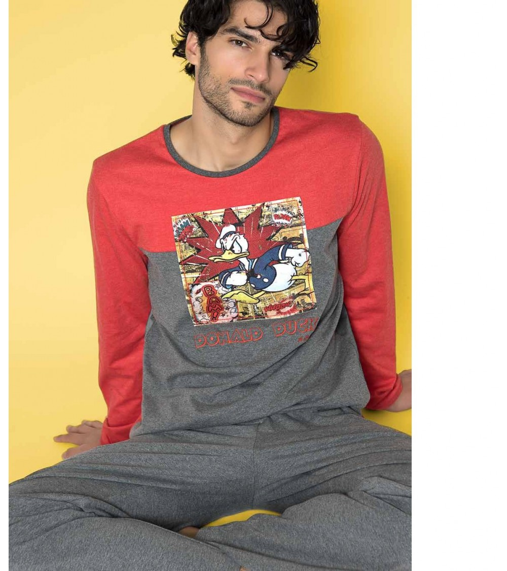 PIJAMA DISNEY MANGA LARGA
