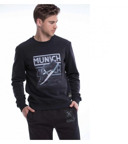 Munich Graphic Crew Sweatshirt