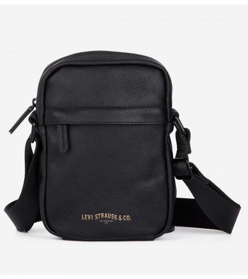 Levi's Men's Messenger leather bag MINI CROSSBODY VEGAN